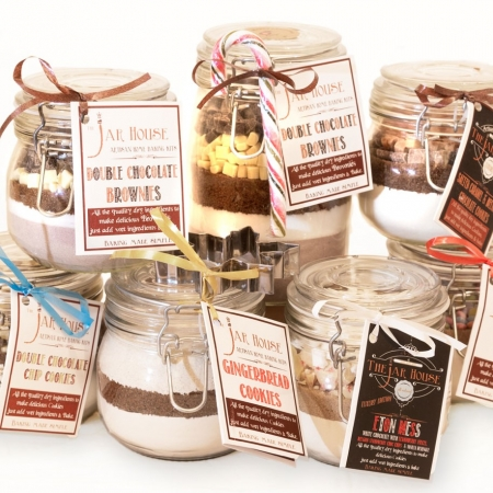 Home Bake Mason Jar kits
